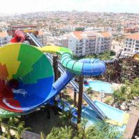 Beach Park - Vista aérea dos resorts