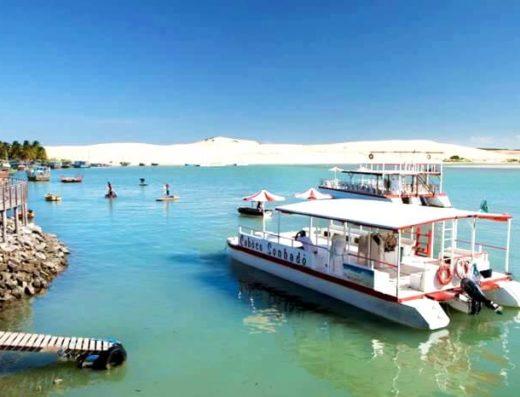 Passeios de barco em Mundaú, Ceará