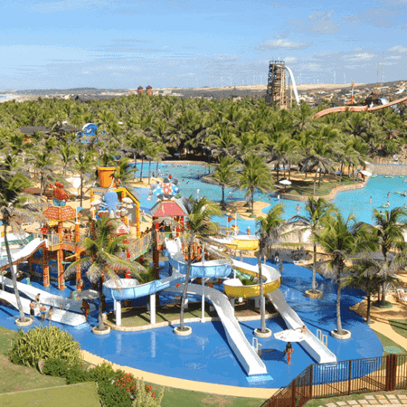 Parque aquático Fortaleza - Beach Park