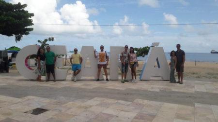 Letreiro Ceará na Praia da Índia Iracema