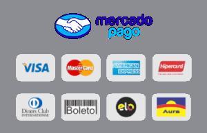 Mercado Pago - Cartões Visa, Master, Amex, Hiper, Diners, Elo e Aura