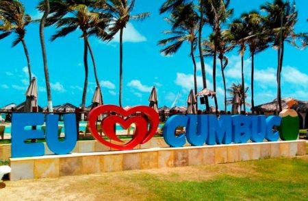 Letreiro Cumbuco