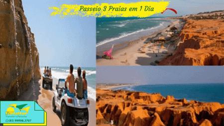 3 praias em 1 dia Fortaleza