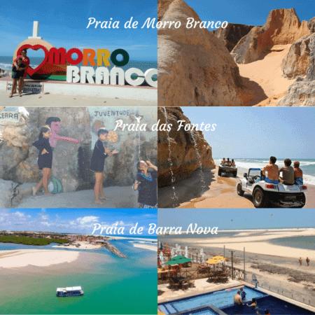 3 praias incríveis