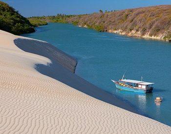 Passeio de Barco praia de Barra Nova