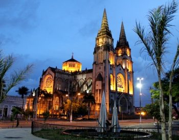 A clássica Catedral de Fortaleza