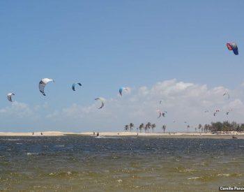 O paraíso dos praticantes de Kite surf