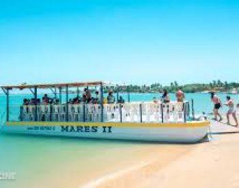 Passeio de barco em Mundaú